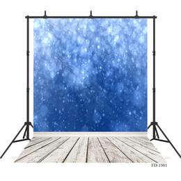 $enCountryForm.capitalKeyWord Australia - blue wallpaper glitter Vinyl photography background for photograph accessories Portrait children baby shower backdrop photo studio