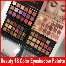 Discount makeup Beauty Brand Makeup Eyeshadow 18 Colors Eyeshadow Rose Gold Remastered Textured Eye Shadow Palette Matte Shimmer New Nude Shadows