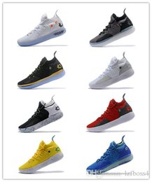 5c43ce8a38f5 2019 news sale All Star Black White BHM University Red City Series Top  quality KD 11 men basketball shoes Sneakers Best quality lzfboss4