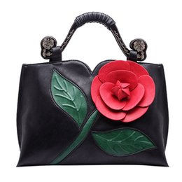 $enCountryForm.capitalKeyWord Australia - OCARDIAN New Fashion Women Retro High Quality Leather Handbag Classic Rose Tote Ethnic Wind Shoulder Bag Bolsa das senhoras J24