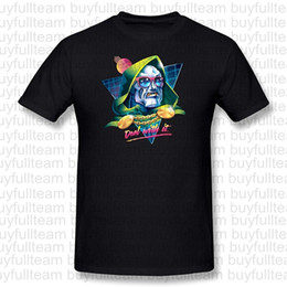 Wholesale shirt deals online – design Doctor Doom Deal With It MAn s Fashion T shirt Men Black Short Sleeves Tops Round Neck T Shirt Size S M L XL XL XL
