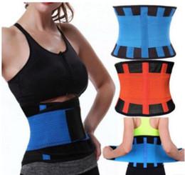 Black xl neoprene online shopping - High Quality Slim Belt Neoprene Waist Shaper Corset Waist Trainer Belt Modeling Strap Waist Trimmer Girdle Belt