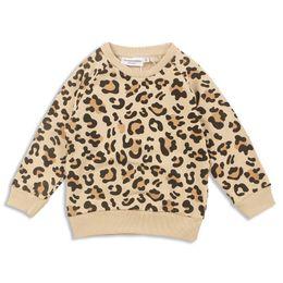 Baby Leopard Print T Shirt NZ - Ins leopard print Boys T Shirts baby clothes toddler boy clothes Kids Sweatshirts Girls Tee Shirt kids clothes Cotton Shirts A2776