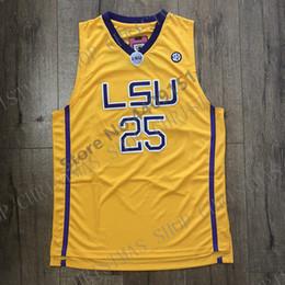 Nouveau maillot de basketball Benigmons LSU College pour 2019 en Solde