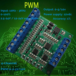 $enCountryForm.capitalKeyWord Australia - 4 Channel PWM to 0-5v converter module PWM to Voltage with high accuracy and low cost