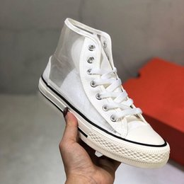 Star Canvas Shoe For Men Australia - All Star Canvas Designer Flar Shoes Sports Black White Red For Women Men Sneakes Casual Shoes