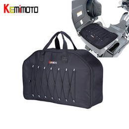 $enCountryForm.capitalKeyWord Australia - KEMiMOTO Tour Pack Organizer Travel Packs Luggage Bags Soft Liner Bag For Touring For Sportster Dyna Road Kings 1996-2013
