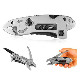 Gear Tools Australia - Multi-function Adjustable Wrench Jaw Screwdriver Pliers Travel Kit Knife Multi Tool Set Survival Tool Gear for Outdoor Camping