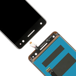 lcd full UK - High Quality LCD Screen and Digitizer Full Assembly Lcd Replacement Glass For Lenovo Vibe S1 LITE S1LA40