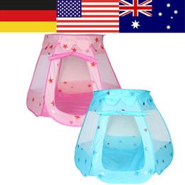 $enCountryForm.capitalKeyWord NZ - Portable Children Kids Play Tents Girl Boys Indoor Outdoor Game Mosquito Tent Toy