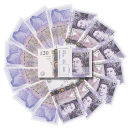 Wholesale Prop Money Realistic Uk Pounds GBP British English Bank NOTES Perfect for Movies Films Advertising Social Media