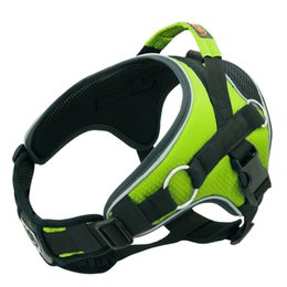 Led Reflective Belts Australia - Hot Foreign Trade Medium Large Dog Vest Harness Reflective Padded Harnesses For Dogs Breast-band Belt Lead Outdoor Sport