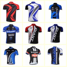 $enCountryForm.capitalKeyWord Australia - GIANT team Cycling Short Sleeves jersey New men Summer Bike Clothes Top Bicycle Shirts Ciclismo Sportwear U61007