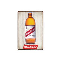 $enCountryForm.capitalKeyWord UK - classic vintage Red Stripe Lager beer fram fresh eggs MAN CAVE tin sign Coffee Shop Bar decoration Bar Metal Paintings