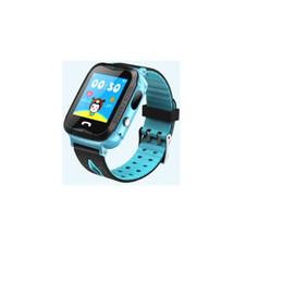 Smart Watches For Girls UK - Stepfly Q68 Kids Smart Watch GPS Tracker Smart Watches for Children Girls Boys SOS Waterproof Camera Watch PK Q90