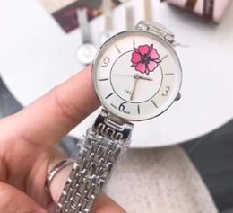 Valentine Gifts For Ladies Australia - Ultra thin Simple women watch luxury flower dial Stainless Steel band quartz wrist watches for ladies best Valentine gift relojes mujer 2019