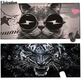 Mouse For Lol Australia - Viviration 2019 Hot Large 900*400 Gaming Mouse Pad High Quality DIY Picture with Edge Locking Keyboard Pad Mat For LOL