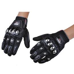 $enCountryForm.capitalKeyWord Australia - Wholesale- Free Shipping Motorcycle Leather Gloves Motocross Moto Road Racing glove Motorbike Outdoor riding Protection Guantes