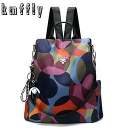 $enCountryForm.capitalKeyWord Australia - Kmffly Backpack Casual Anti Theft Backpack For Teenager Girls Women Oxford Multifuction Bagpack Schoolbag 2019 Sac A Dos Mochila Y19061004