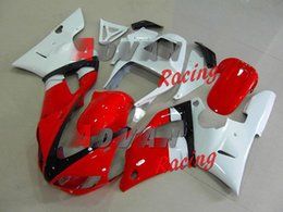 1999 Yamaha Yzf R1 Australia - New ABS Motorcycle Fairing kit for YAMAHA YZF R 1 98 99 YZF R 1 1998 1999 YZF1000 yzf r1 98 99 Fairings set nice white red
