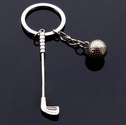 $enCountryForm.capitalKeyWord Australia - Games souvenir ball key ring metal golf key chain creative gifts for skoda fabia ford focus 2 Vw golf 5 Jaguar keychain keyrings