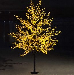 $enCountryForm.capitalKeyWord Australia - LED Cherry Blossom Christmas Tree Lighting Waterproof Garden Landscape Decoration Lamp For Wedding Party Christmas