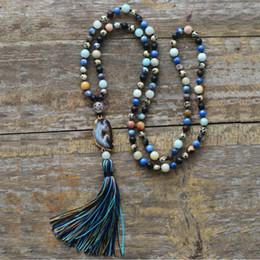 $enCountryForm.capitalKeyWord Australia - Luxury Drusy Natural Stones Gilded Druzy Colorful Tassel Necklace Women Elegant Necklace Boho Gift Necklace Dropship