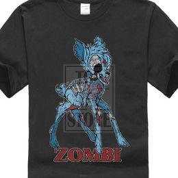 $enCountryForm.capitalKeyWord Australia - Zombi Ii T Shirt Deer Fun Dracula Vampire Bat Zombie Halloween Splatter Bambi