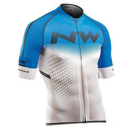 $enCountryForm.capitalKeyWord Australia - Hot Sale NW Team Summer Cycling Jersey short sleeves cycling shirt Bike clothes bicycle Clothing Ropa Ciclismo Men Racing Sportwear Y092007