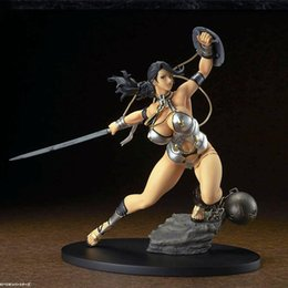 $enCountryForm.capitalKeyWord Australia - Q-Six Sexy Figure Queen's Blade Branwen PVC Action Figure Anime Figure Model Toys Sexy Girl Soft Chest Collectible Doll Gift
