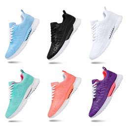 Wholesale Hot Whole Sale Men Women sports running shoes black white green mesh breathable shoes sports sneakers size 36-45 free shipping