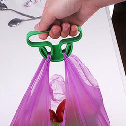 Plastic shoPPing bags online shopping - Portable Shopping Bag Handle Household Plastic Bag Hook Kitchen Supplies