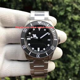 TiTanium braceleT waTch online shopping - Best Edition Wristwatches mm TN TB Titanium Bracelet Swiss ETA Movement Automatic Mechanical Mens Watch Watches