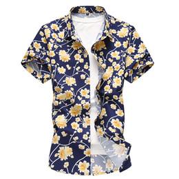 $enCountryForm.capitalKeyWord Australia - men's short-sleeved fashion casual big size fat printed lapel shirt male mens designer t shirts t shirt clothes white tshirts 6xl