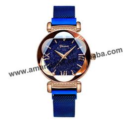 9c0e85a0d5e Hot Geneva Starry Sky Watch Woman Dress Roman Number Watch Fashion Women  Casual Dress Wristwatches Glitter