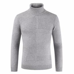Zipper collar sweater men s online shopping - Men Winter High Neck Thick Warm Cotton Sweater Pullovers Men Turtleneck Brand Pattern Knitwear Double Collar Sweater Men V191022