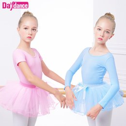 princess dress for kids dance Australia - Child Ballet Tutu Pink Slim Dance Clothes Leotard Girls Princess Ballet Dress For Kids