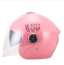 CasCo helmets moto online shopping - Motorcycle Helmet Half Face Helmet Casco Moto Capacete Motorbike Motocross Helmet Motorcycle For Four Years Children