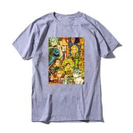 a62f6774d Rick And Morty T Shirt Funny Quote Harajuku T-shirt Men Cartoon T-shirt  Unisex Short Sleeve Tee Summer Top Streetwear