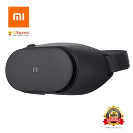 Xiaomi Game Australia - 100% Original Xiaomi VR Play 2 Virtual Reality 3D Glasses Headset Xiaomi Mi VR Play2 With Game Controller For 4.7- 5.7 Phones