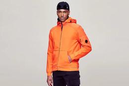 Men s sleeveless hoodies online shopping - 2019 New Fashion CP Mens Jacket Coat Luxury Designer Mens And Women Jacket CP Hoodies Jogging Casual Mens And Women Tops Sweatshirts