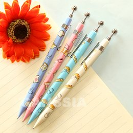 $enCountryForm.capitalKeyWord Australia - 1PC Kawaii cartoon bread series Mechanical pencils Stationery School student writing practice pencil supplies (ss-1442)