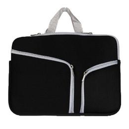 Macbook Retina 13 Inches UK - Slim Laptop Protective Case Zipper Bag Sleeve Pouch Handbag For Macbook Air Pro Retina 12 13 15 inch Storage Bag Travelling Bags Durable