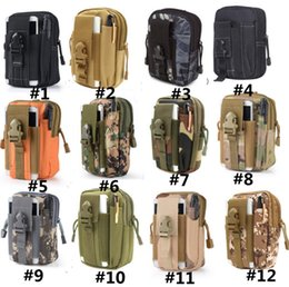 76477651fce9 Canvas Nylon Tool Bags Australia - EDC Military Molle Pouch Waist Bag Men  Camo Waterproof Nylon