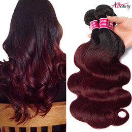 Burgundy Red Ombre Hair Color Online Shopping Burgundy Red Ombre