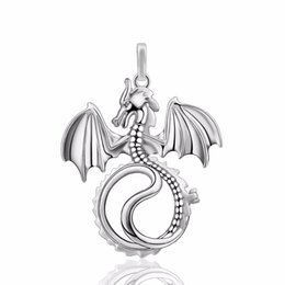 Pregnancy Chime Pendant Australia - Chinese Dragon Harmony Bola Cage Pendant for Pregnancy Chime Ball New Year Gift Mexico Ball Angel Caller