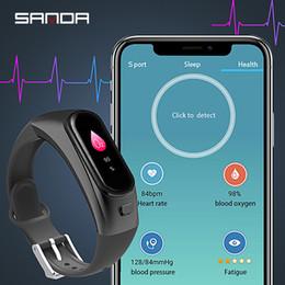 $enCountryForm.capitalKeyWord Australia - SANDA New Arrival Bluetooth Smart Watch Men Heart Rate Blood Pressure Health Fitness Tracker Smart Bracelet Clock LED Sport Wristband