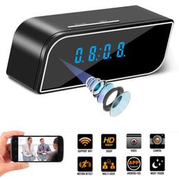 Hidden Cameras Clock NZ - Spy Camera Mini WiFi Hidden Camera with Alarm Clock,Cloud Cam HD 1080P Security Surveillance Cameras Nanny Cam with Motion Detection Video