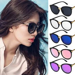 5e7bd04448f4 Korean Sunglasses Brands NZ - Korean Style Round Sunglasses Women 2019  Luxury Brand Designer Mirror Sun