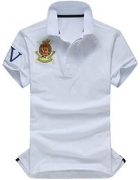 $enCountryForm.capitalKeyWord Australia - Buy American Brand Men Solid Polo Shirts Pony Embroidery Cotton USA Designer Racing Polos Business Tops White Yellow Red Green